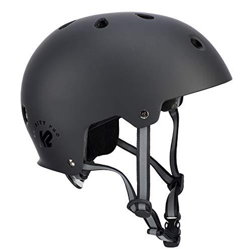K2 Damen Herren Inline Skates Helm VARSITY PRO - schwarz - S (48-54cm) - 30D4111.1.1.S