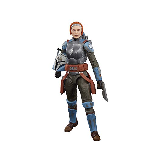 Star Wars The Black Series Bo-Katan Kryze Toy 6-Inch Scale The Mandalorian Collectible Action Figure, Toys For Kids Ages 4 and Up
