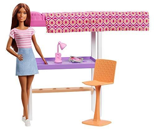 Mattel F-Barbie - Cama con escritorio.