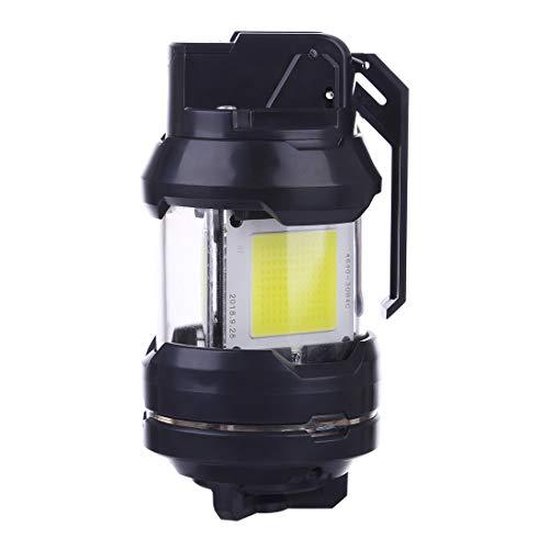 OVERWELL Blinkt Granate T238 LED Granate Spielzeug kompatibel mit 11,1 V Batterie, Taktische Granaten für Nerf, Airsoft, Nachtkamf, CS-Spiele, Schwarz