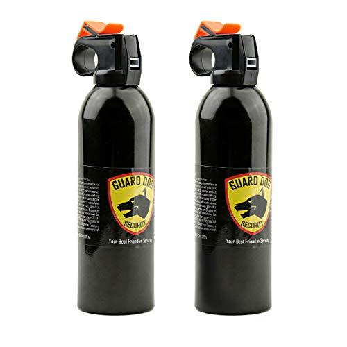Guard Dog Security Fire Master OC Spray Fogger 9 oz - Police Strength with UV dye - 150 Burst (9 oz - 2 Pack)