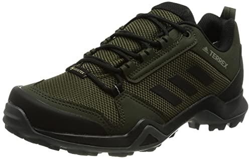 adidas Terrex AX3 GTX, Zapatillas de Hiking Hombre, CARNOC/NEGBÁS/CAQPUR, 43 1/3 EU