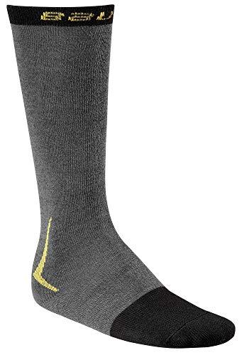 BAUER 37.5 NG Elite Performance Skate Sock, Größe:L;Farbe:Grau