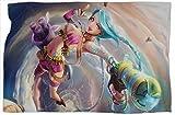 Jinx League Legends - Manta de cama con estampado de leyendas, súper suave,...