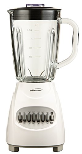 Brentwood JB-920W Sous Chef 12 Food Processor, White