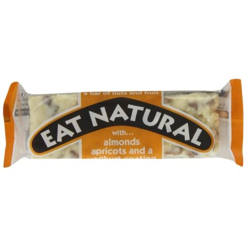 Eat Natural with Almonds, Apricots and a Yoghurt Coating 50 g (Pack of 12)