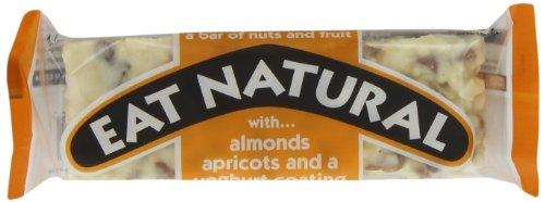 Eat Natural Nuss und Fruchtriegel, Mandel und Aprikose, 12er Pack (12 x 50 g)