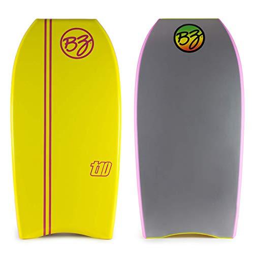 """BZ T-10 Bodyboard (Yellow, 40"""")"""