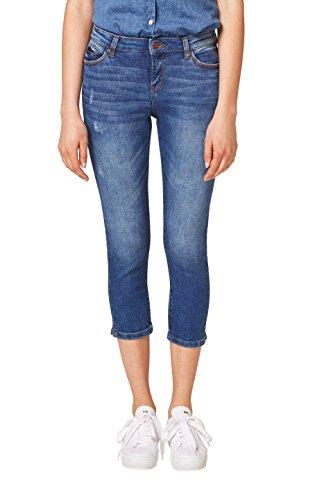 ESPRIT Damen 048EE1B043 Skinny Jeans, Blau (Blue Medium Wash 902), W28