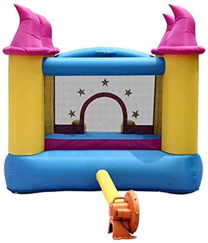 SGSG Castillo Hinchable para niños, Castillo Inflable para niños, Castillo Inflable para Exteriores, casa pequeña, trampolín Inflable, casa de Rebote