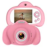 Video Camer for kids, HD Screen Dual Lens Child Camera Video Recorder,Toys for 4 Year Old girls(Included 32GB SD Card)Toys for 4 Year Old Children