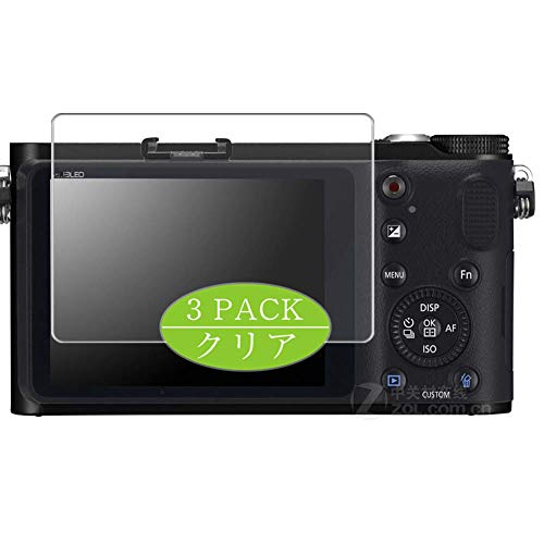 VacFun 3 Piezas HD Claro Protector de Pantalla Compatible con Samsung NX210 Digital Camera, Screen Protector Sin Burbujas Película Protectora (Not Cristal Templado) New Version