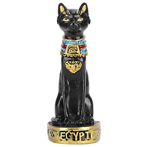 Estatua del Gato Egipcio Antiguo 7 x 2.5cm Mini Resina Egipcio Gato...