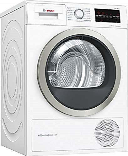 Bosch WTW85400 Serie 6 Wärmepumpen-Trockner / A++ / 236 kWh/Jahr / 8 kg / weiß mit Glastür / AutoDry / SelfCleaning Condenser / SensitiveDrying System