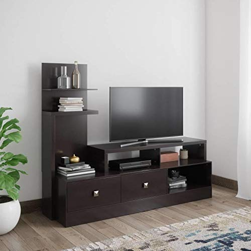 @home by Nilkamal Aroy Low Height Wall Unit (Cappucino)