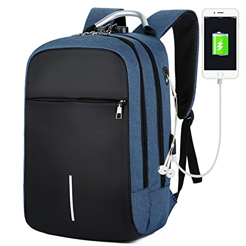 Travel Laptop School Business Backpack for Women and Men ✓ Waterproof ✓ USB Charging ✓ Headset Port ✓ Anti-Theft ✓ 13 Inch to 15.6 Inch Fits Laptop ✓ Large and Durable 35 L ✓ Casual Hiking Daypack