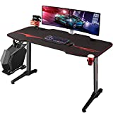 Homall Gaming Desk Computer Desk Racing Style Office Table Gamer Pc Workstation...