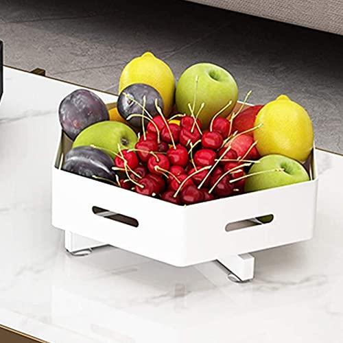 Qianglin 2 Niveles Lazy Susan Spice Rack Organizer para gabinete, Estuche de visualización cosmética de Giro, para el Almacenamiento de condimentos de la despensa de la Cocina, Acero Inoxidable