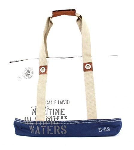 Camp David Deep River Shopper White