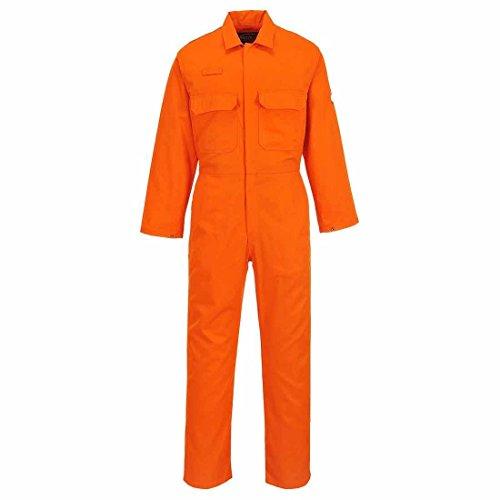 Portwest Biz1Overall Bizweld schwer entflammbar, Größe M, Orange