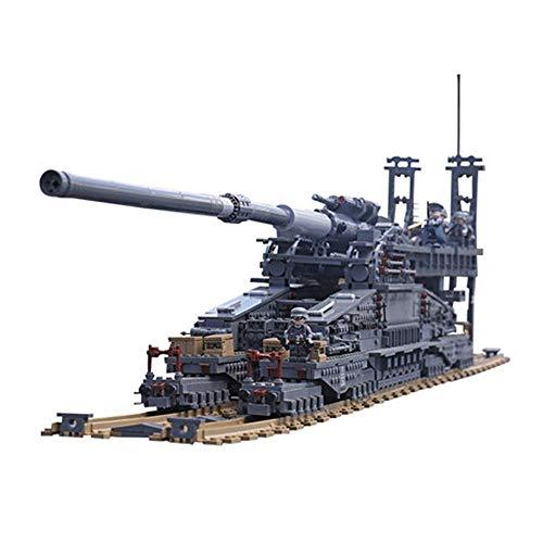 CROWNXZQ Zugpistole Modell, Eisenbahn Kanone Auto Modellbau kitBuilding Holz Handwerk Kits, Lernspielzeug DIY 3D Kanone Puzzles, Geeignet für über 14 Jahre alt