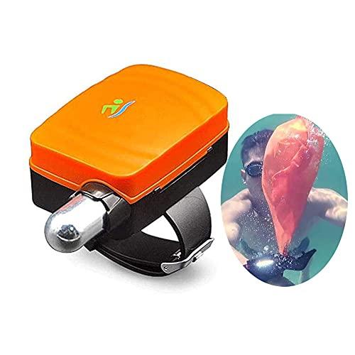 LFTS Pulsera antiahogamiento portátil con brújula Pulsera Salvavidas para Nadar Herramienta portátil de Rescate de Agua, Pulsera Flotante para Adultos y niños