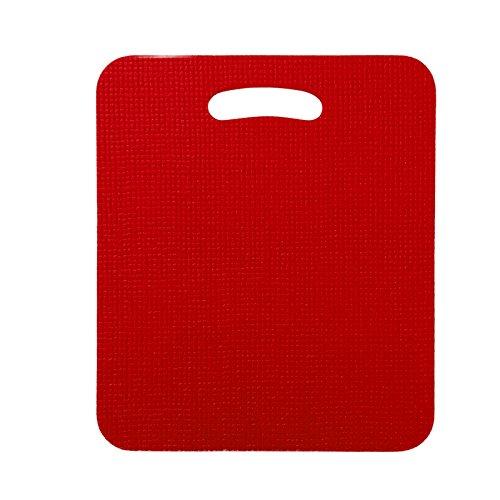 Sitzkissen rot , Saunakissen, Dampfbadkissen, bakterizid und fungizid durch Sanitized®- Veredelung