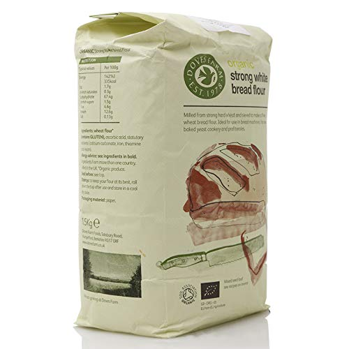 Doves Farm - Organic Strong White Bread Flour - 1.5Kg