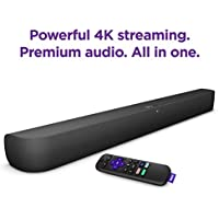 Roku 9101R Soundbar with built-in 4K Streaming Media Player
