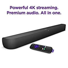 Powerful 4K streaming: Stream what you love with the built-in Roku player, including free TV, live news, sports, movies, and more from thousands of channels. Plus enjoy HD, 4K, or HDR picture optimized for your TV with sharp resolution and vivid colo...