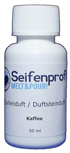 Seifenprofis Seifenduft Duftöl große Auswahl zum seifen gießen 50 ml (Kaffee)