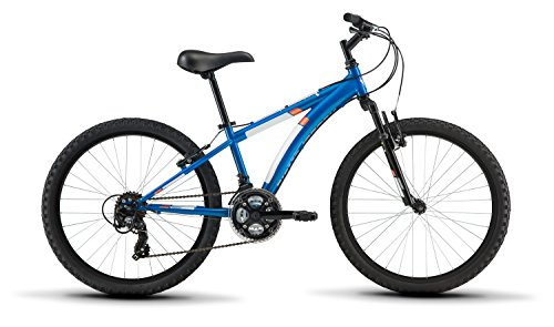 Diamondback Bicycles Cobra 24 Youth 24' Wheel Mountain Bike, Blue