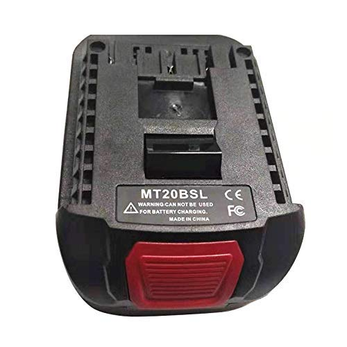 Battery Adapter MT20BSL Portable Battery Converter Adapter for Bosch 18V Lithiu-m Power Tool