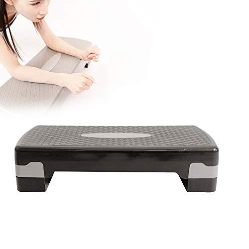 Grist CC Aerobic-Stepper Schritt Übung, Steppbrett Step Mit Einstellbare Höhe 2 Ebene 10Cm, 15Cm Für Übung Weight Loss Home Gym Yoga