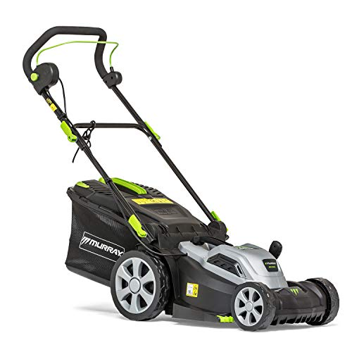 Murray 2691584 EC370 37 cm Electric Corded Lawn Mower, Push, 5 Years Warranty