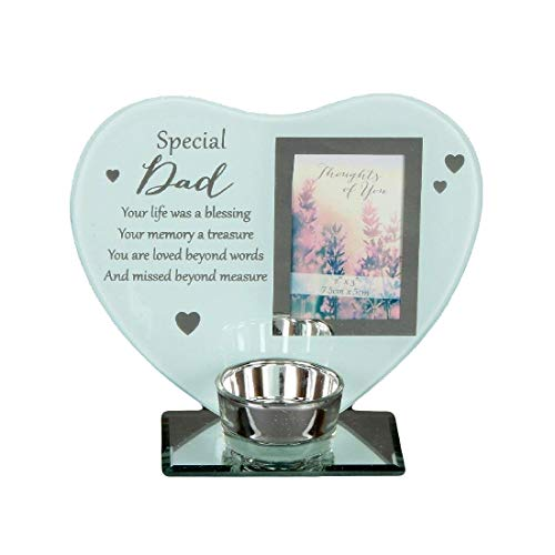 Special Remembrance Memorial Dad Tea Light Holder, one size
