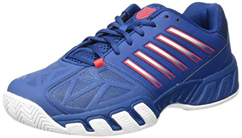 K-Swiss Performance KS Tfw Bigshot Light 3-Dark Blue/Bittersweet/White, Scarpe da Tennis Uomo, Blu Scuro/Agrodolce/Bianco, 45 EU