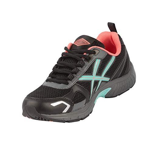 Steel Edge Damen Laufband Laufband Laufband Laufband Laufband, Schwarz (schwarz), 35.5 EU