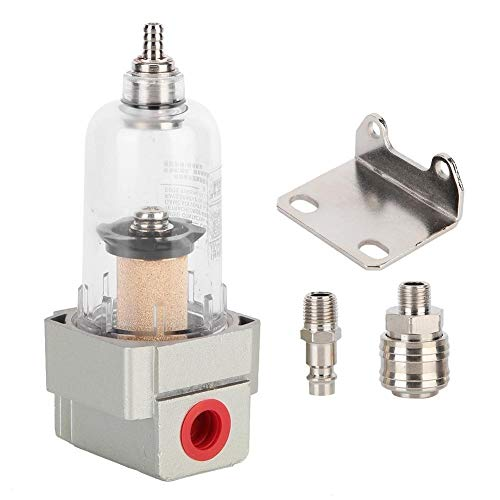 KSTE compressor luchtfilter waterfilter olieafscheider inclusief snelkoppeling 1/4