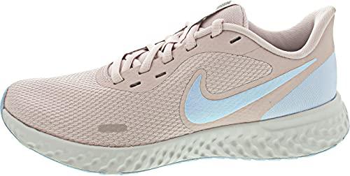 Nike Damen Revolution 5 Laufschuh, Barely Rose Hydrogen Blue MTLC Pewter, 38 EU