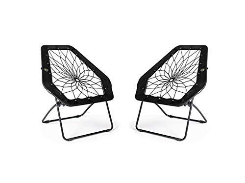 Bunjo Black Hexagon Bungee Chair (2)