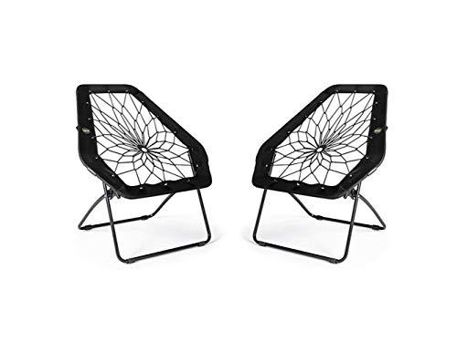Bunjo Black Hexagon Bungee Chair (2)