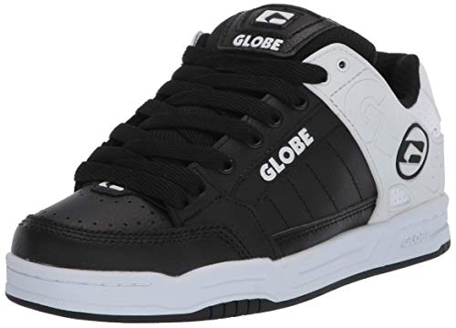 Globe Men's Tilt Skate Shoe, Black/Black/camo, 14 M US