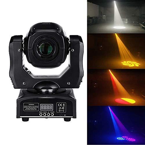 75W LED Spot Moving Head Light LED DJ Beam Light LED mini moving head lightwith gobo&color wheel Disco DJs Equipmentnt