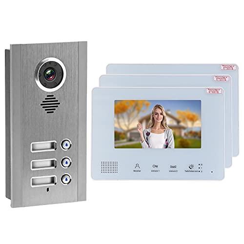 Videoportero, portero automático, portero automático, intercomunicador visual, timbre de puerta, teléfono para...