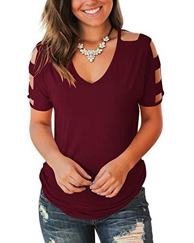 Top 10 Best Wine Color Shirt for Women Comparison