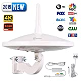 Best Antenna For Rural Areas - ANTOP UFO 720°Dual-Omni-Directional Outdoor HDTV Antenna with Exclusive Review