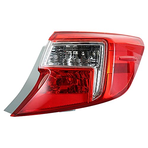 WFLNHB Taillight Taillamp Passenger Side Right RH Replacement for 2012-2013 Camry Hybrid