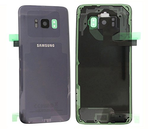 Original Samsung Galaxy S8g950F G950batería tapa trasera y tapa de batería Cover Carcasa Púrpura Orchid gris GH82–13962C