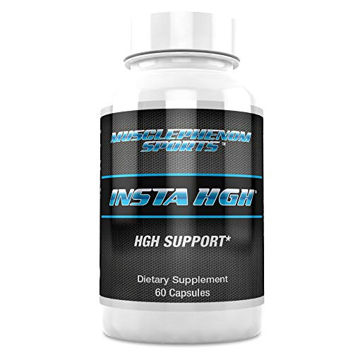 Insta HGH Natural Gh and Anti Aging Support for Men and Women 60 Capsules